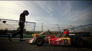Dreams of becoming an F1 Driver - Collin Daley Jr. 2012