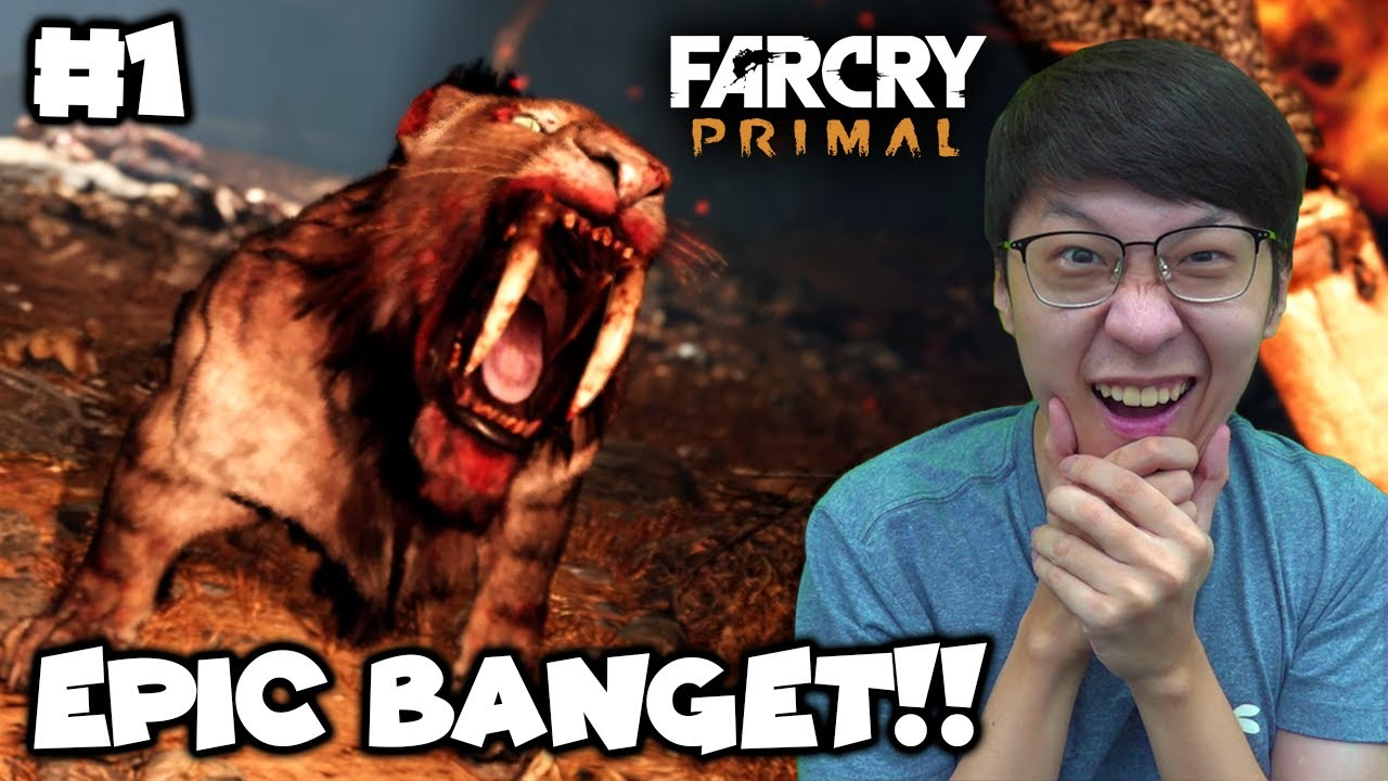 Game Survival Paling EPIC!! - Far Cry Primal Indonesia - Part 1