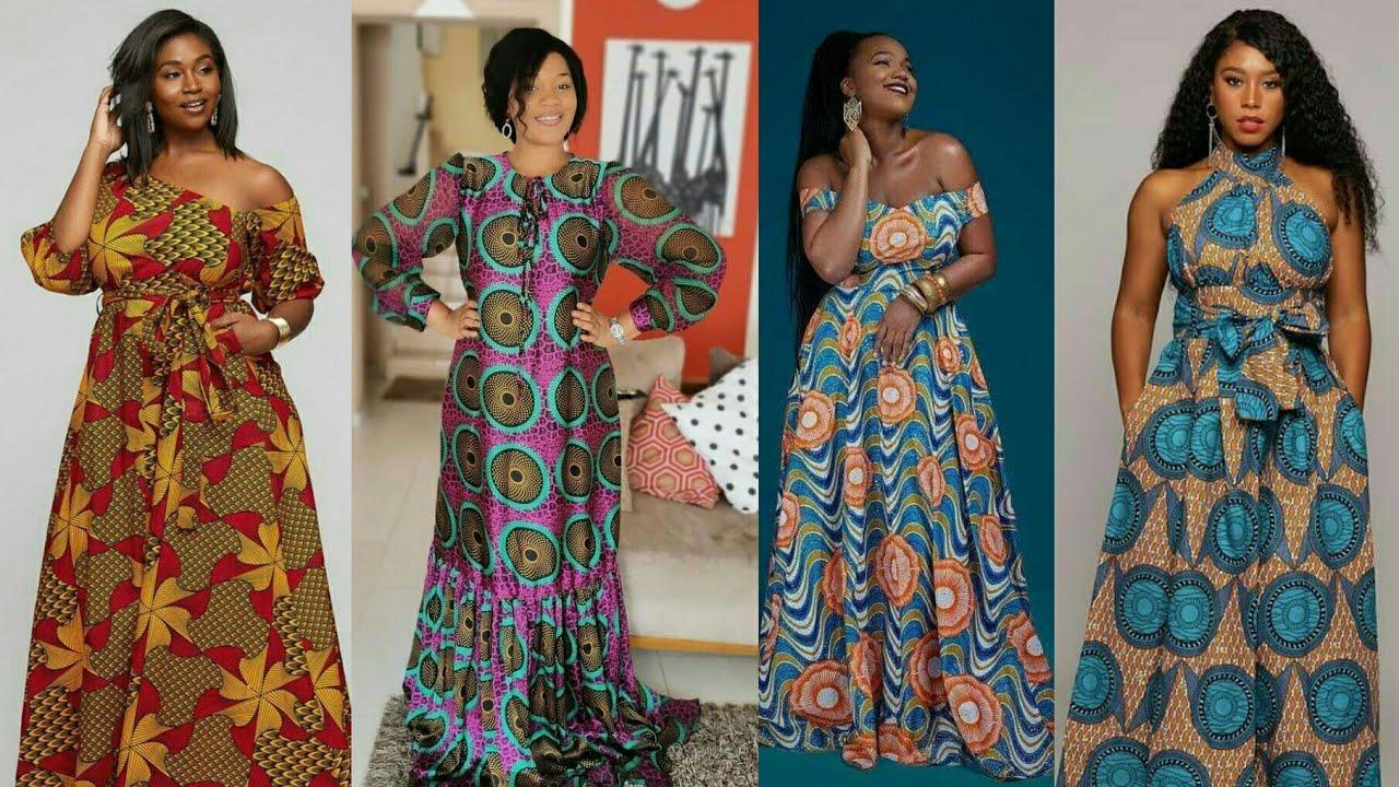 Download MODÈLE CHIC DE LONGUE ROBES EN PAGNE / Nouveaux modèles en pagne [ ANKARA MAXI DRESS ] AFRICAN WAX