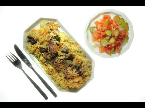 Cross Culture Cooking Nr. 4: Afghanische Spezialitäten - Kabuli Palau mit Salat