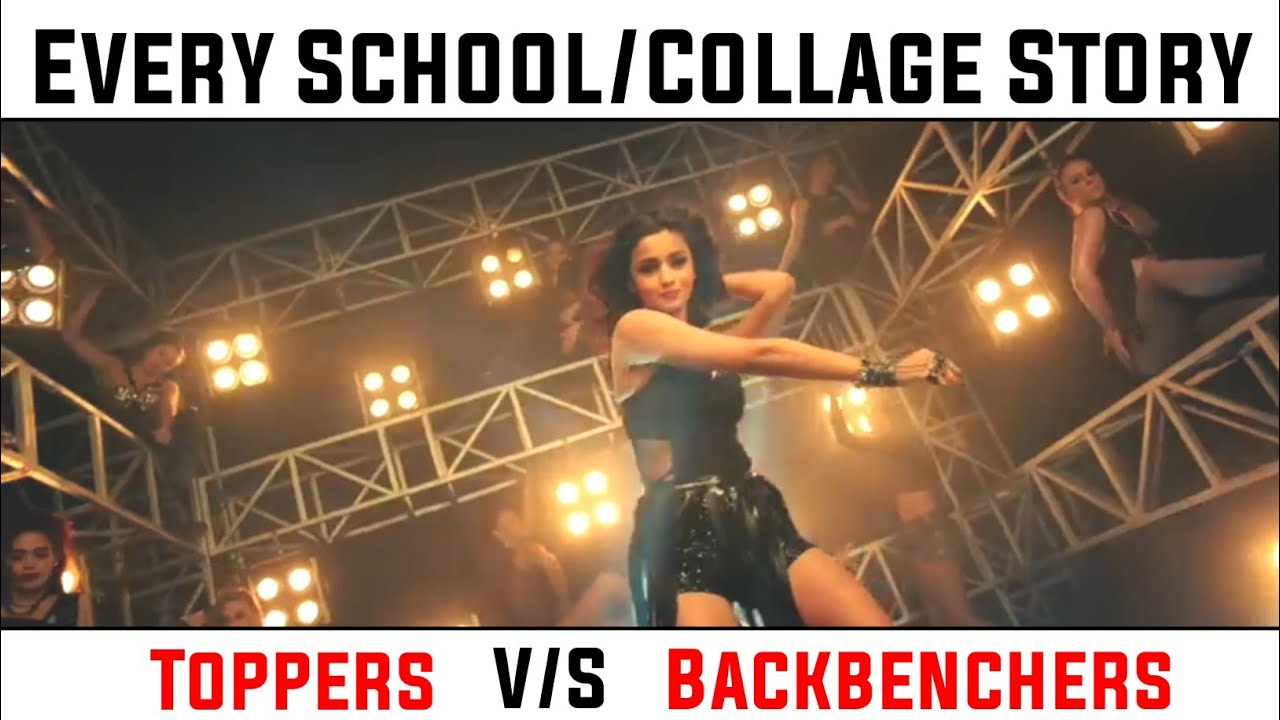 Every School/College Story || In Bollywood Style || Bollywood song Vine ||