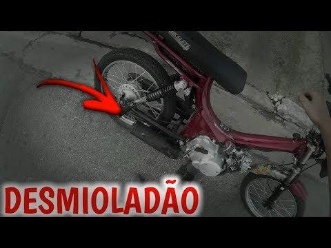 DESMIOLEI O ESCAPE DO BOLOLO - Agora Berra De Vdd (Victor Da Moby) Moto Vlog