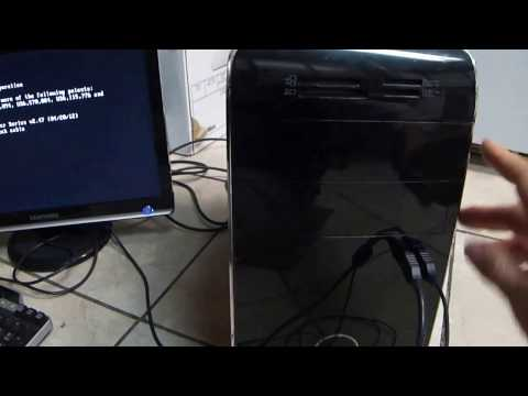 DELL XPS 8500  Desktop PC How To Open CD/DVD Drive
