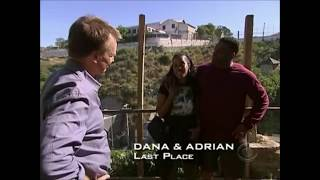 Amazing Race Fail Moments #28 - Dana And Adrian Are Eliminated