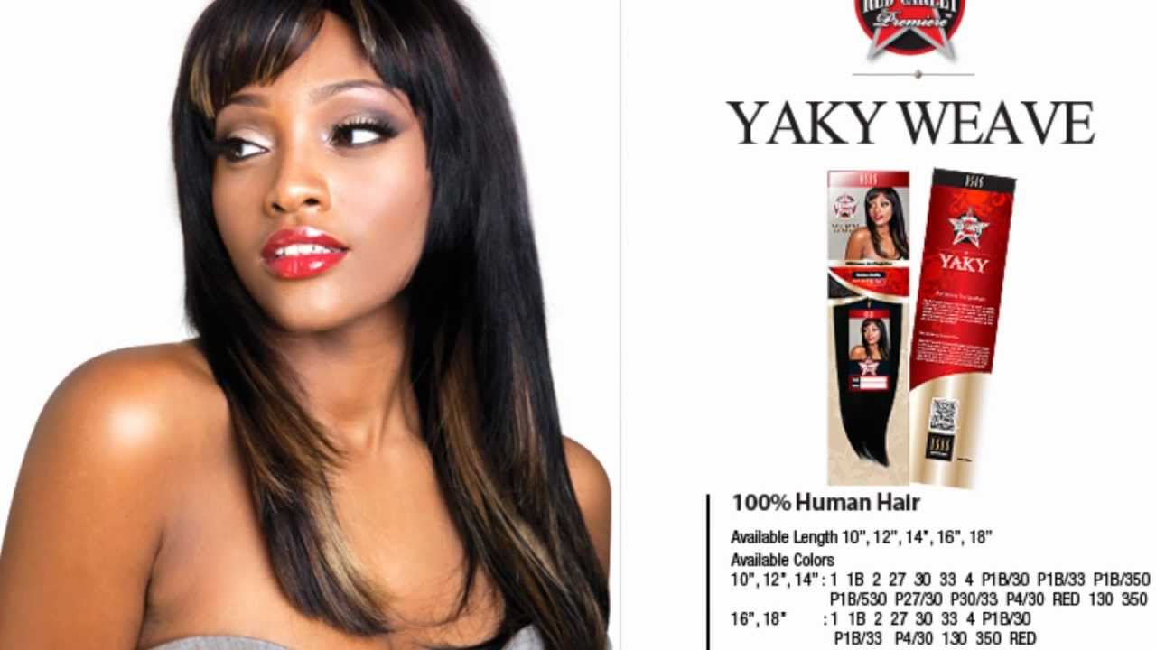 Isis Red Carpet Collection Dash 28 Pc Yaky Weave Youtube