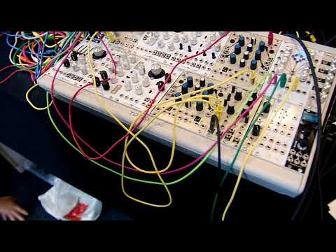 Schlappi Engineering Eurorack Modules at Superbooth 2018