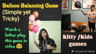 Balloon Game for parties /Balloon Games for Team building / Party games using balloons