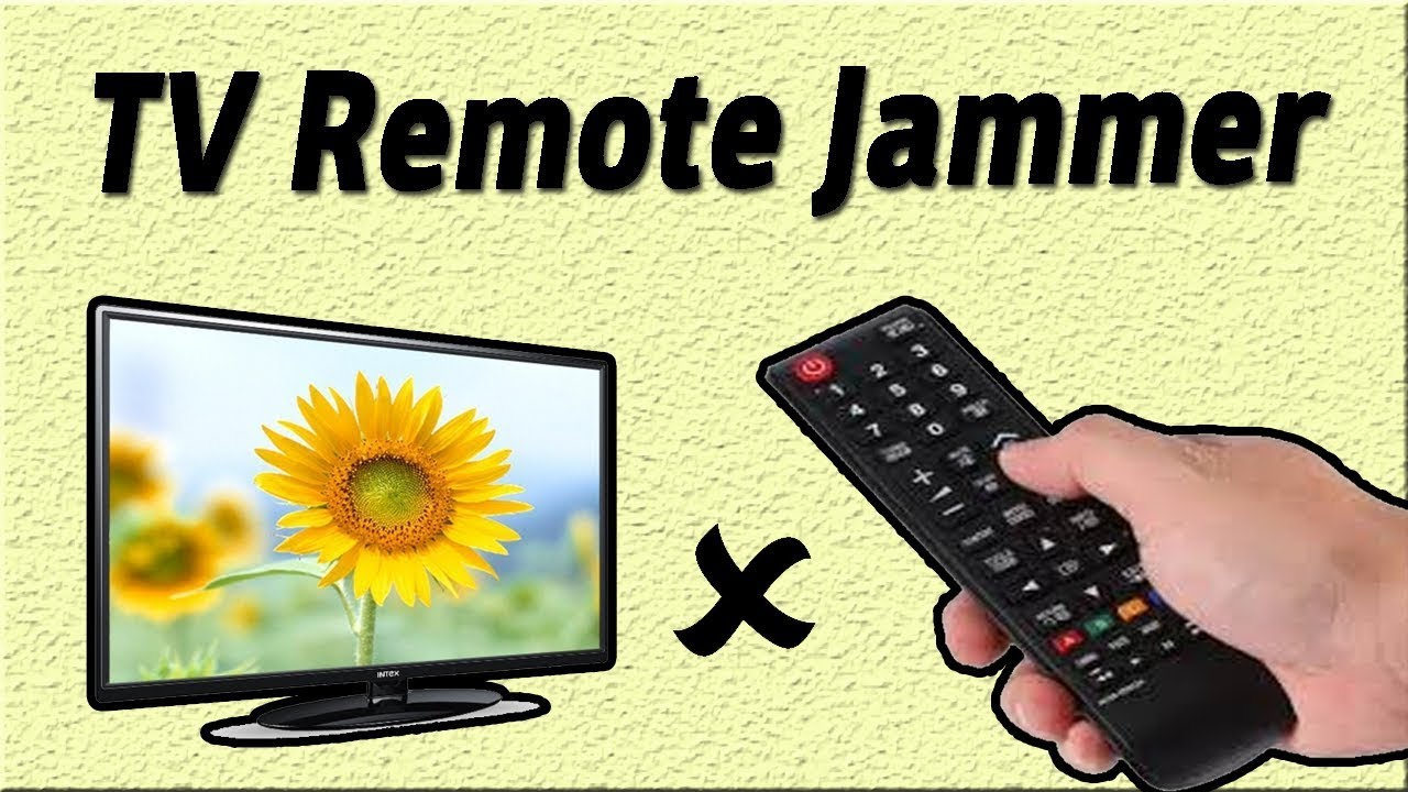Tv Remote Jammer Circuit 555 Timer Projects Simple Project Diy Using Ne555 Ic Control Light Diagram Ideas