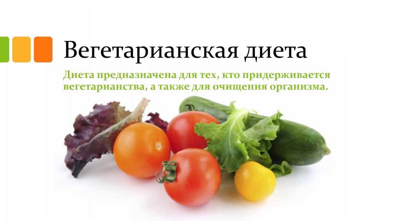 Вегетарианская диета меню - YouTube