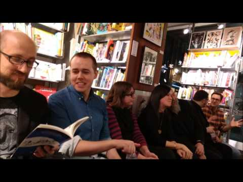 Warren Ellis And Friends At Gosh Comics In London For Image's 25th Anniversary