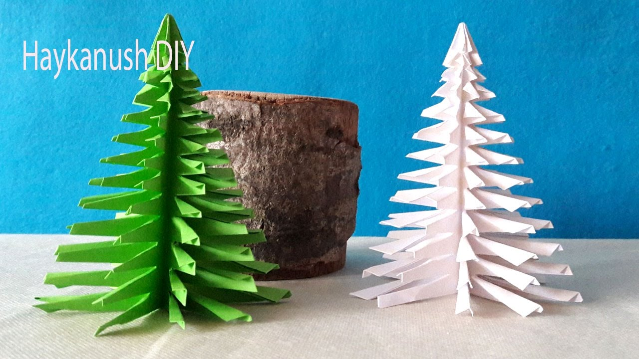 Make Origami Christmas Tree