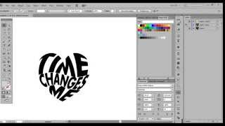 2. Adobe Illustrator - Morph Text into an Object