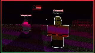 Becoming a military volunteer in ROBLOX