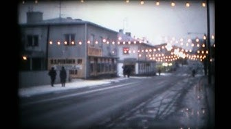 Varkaus y.1979, cinefilm on dark cristmas time