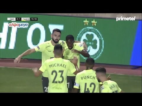 Omonia Paphos Goals And Highlights