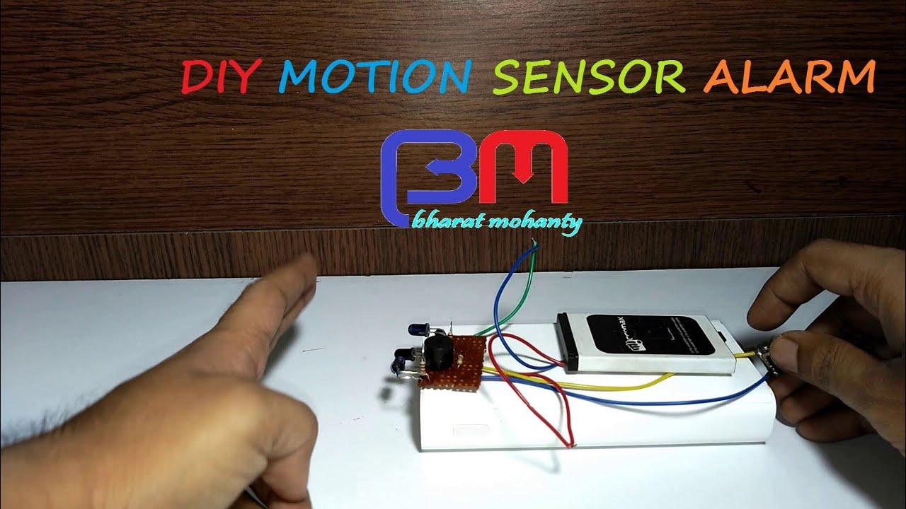 DIY MOTION SENSOR ALARM - YouTube