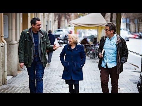 Tres lingüistes discuteixen sobre Pompeu Fabra
