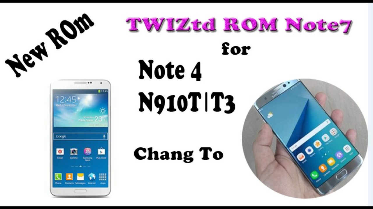 TWIZtd ROM N7 Stock For Galaxy Note 4 N910T 2017 By Yadin