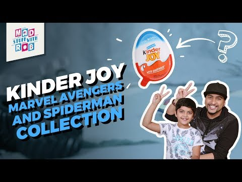 Kinder Joy | Marvel Avengers and Spiderman Collection