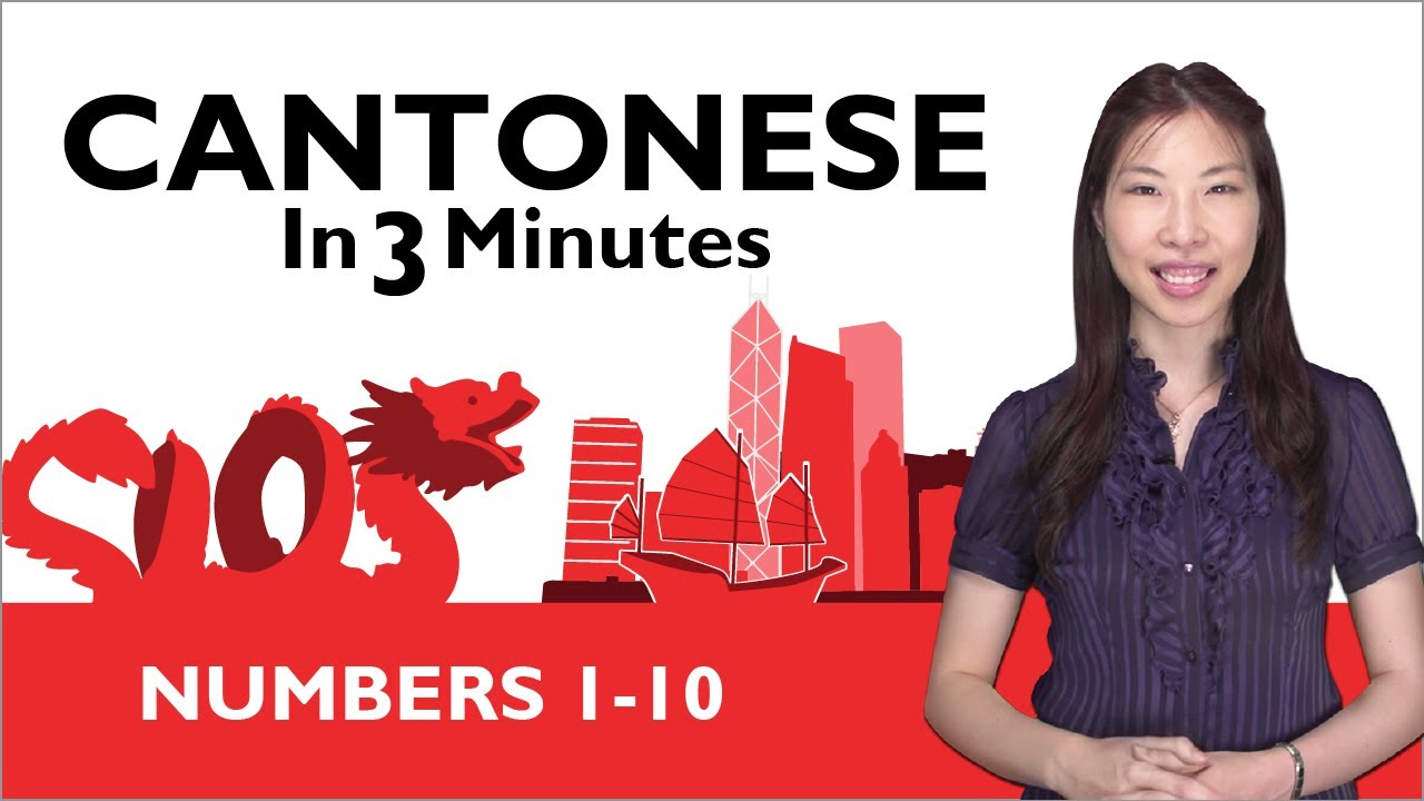 how to write numbers in cantonese