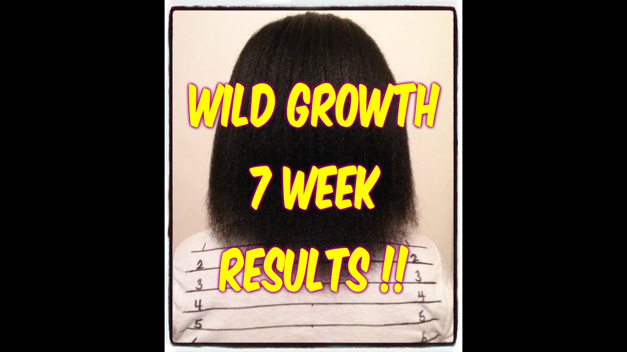 Wild Growth 7 Week Results Youtube