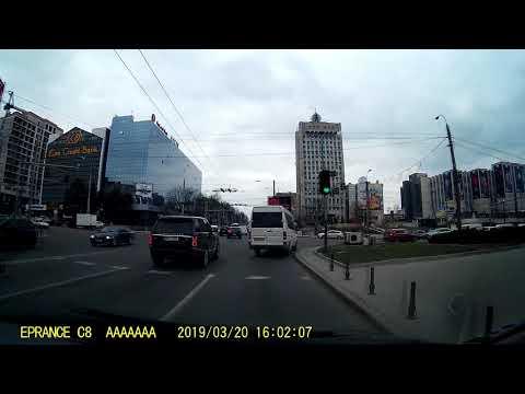 2019 03 20 Кишинев с видеорегистратора