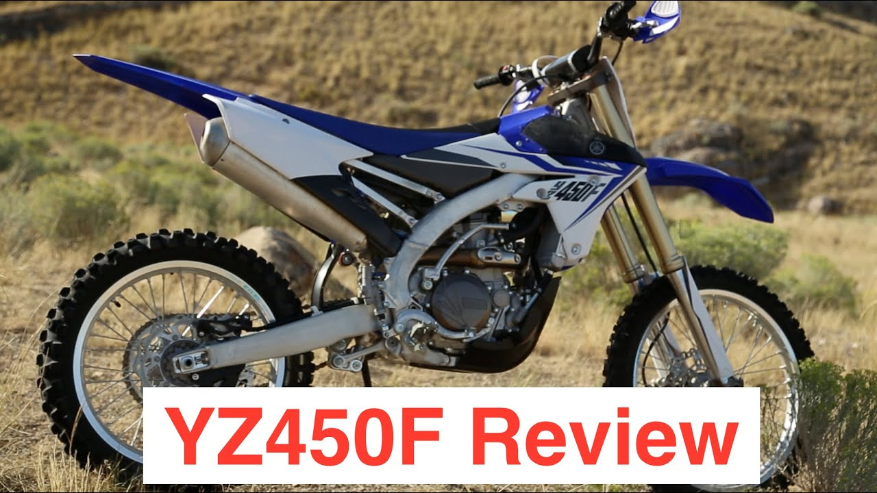 Yamaha YZ450F Review- 4K - Off Road/Enduro Riding - Episode 103