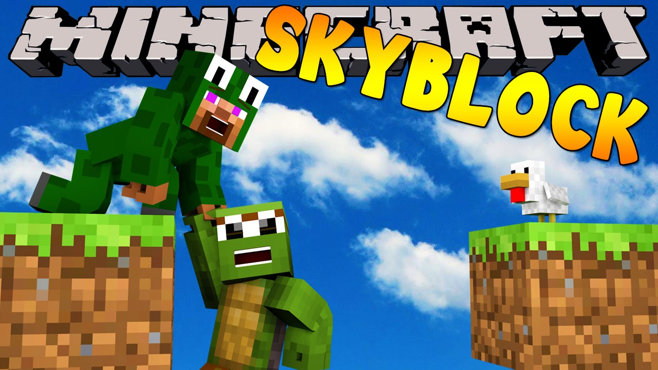 how to get skyblock on minecraft