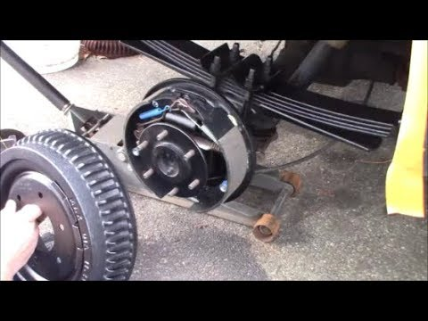 K5 Chevy Blazer - Installing Rear Drum Brakes for The Big ...