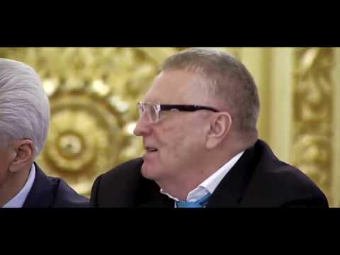 Жириновский Путину - надо очистить русский язык от казахских слов
