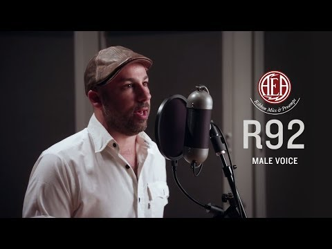 AEA R92 Front - Male Voice - Listening Library