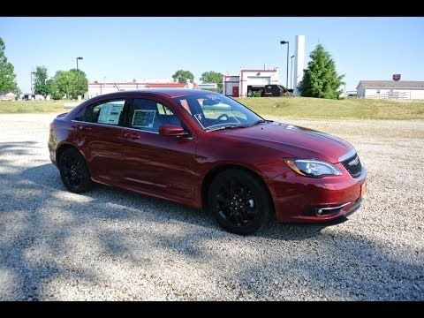 2013 chrysler 200 limited sedan red carhartt leather for. Black Bedroom Furniture Sets. Home Design Ideas