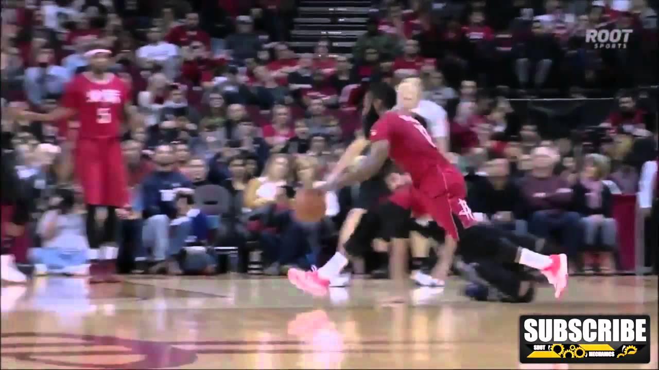 b6aadb11a095 James Harden Pop Crossover on Ricky Rubio  NBA Moves How to - YouTube