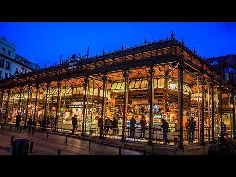 Mercado De San Miguel San Miguel Market Madrid Spain Youtube