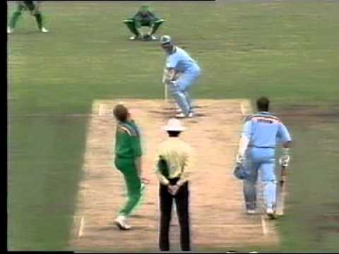 Allan Donald Sharp In swinging delivery