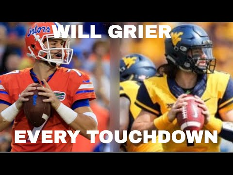 Every Touchdown of Will Grier's College Football Career (2015-2018) ᴴᴰ