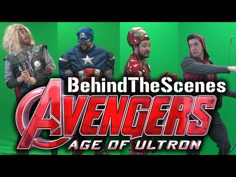 Behind the Avengers Age of Ultron Trailer Parody