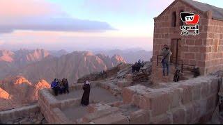 فيديو | شاهد جبل موسى ، الجبل الذى كلم سيدنا موسى ربه من عليه