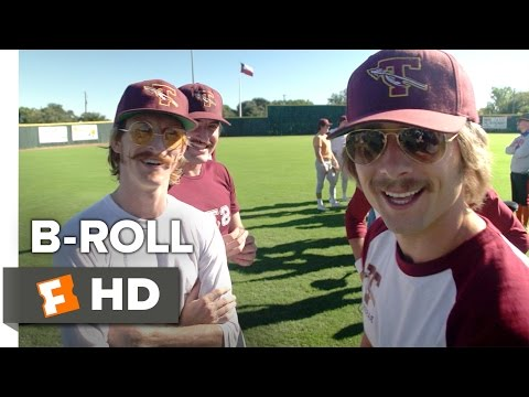 Everybody Wants Some!! BROLL 2016  Glen Powell, Blake Jenner Movie HD
