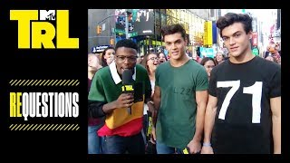 The Dolan Twins Play Requestions w/ Their Fans | TRL