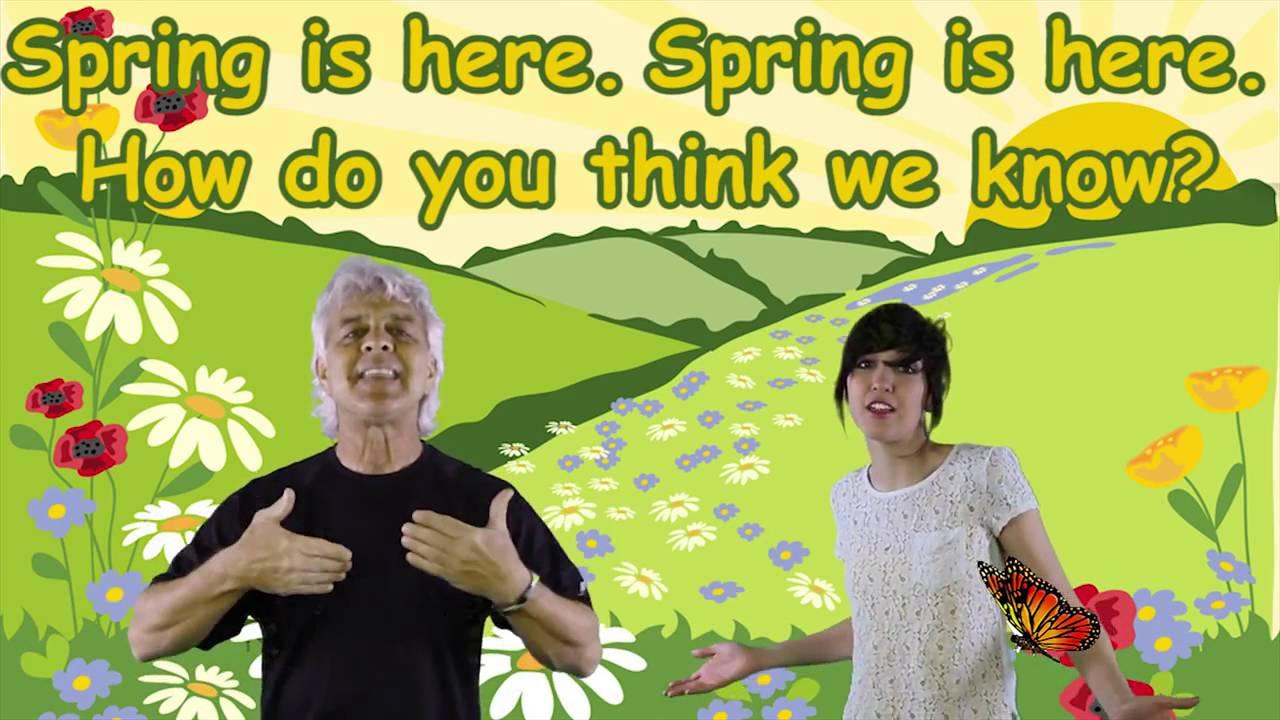 Spring Songs for Children - YouTube