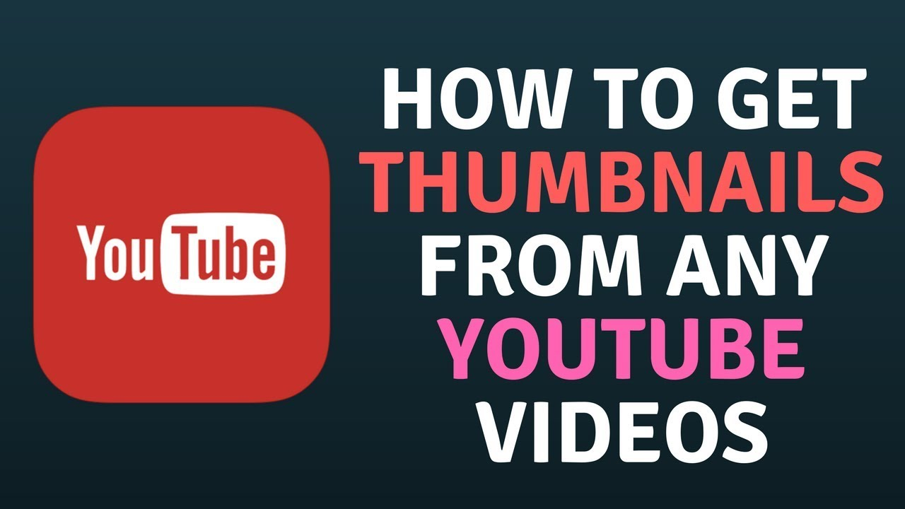 Get Youtube Thumbnail