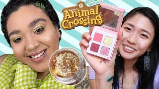 We Tried The Colourpop x Animal Crossing Makeup Collection