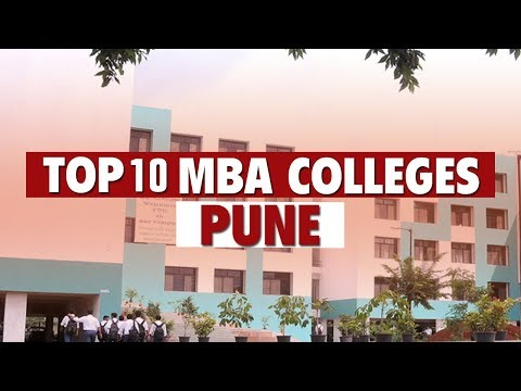 Top 10 B-Schools for MBA (after CET) | Pune