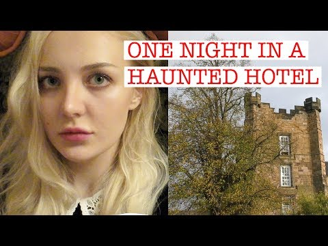 Lumley Castle Hotel || One night in a haunted hotel || VLOG
