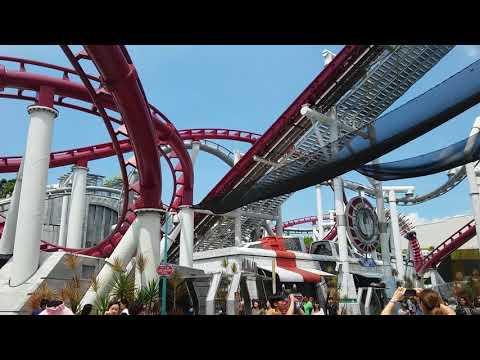 Battlestar Galactica rollercoaster - Universal Studios Singapore