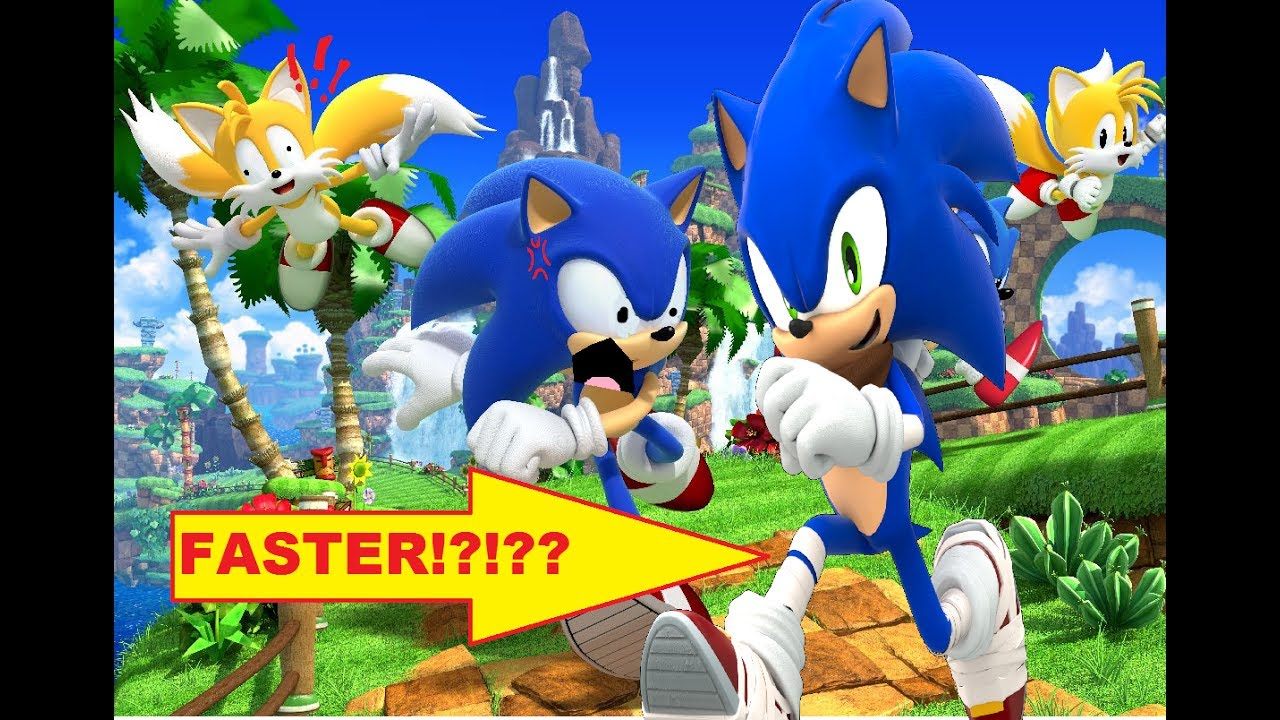 Is Boom Sonic Faster Than Modern Sonic Sonic Theory Youtube