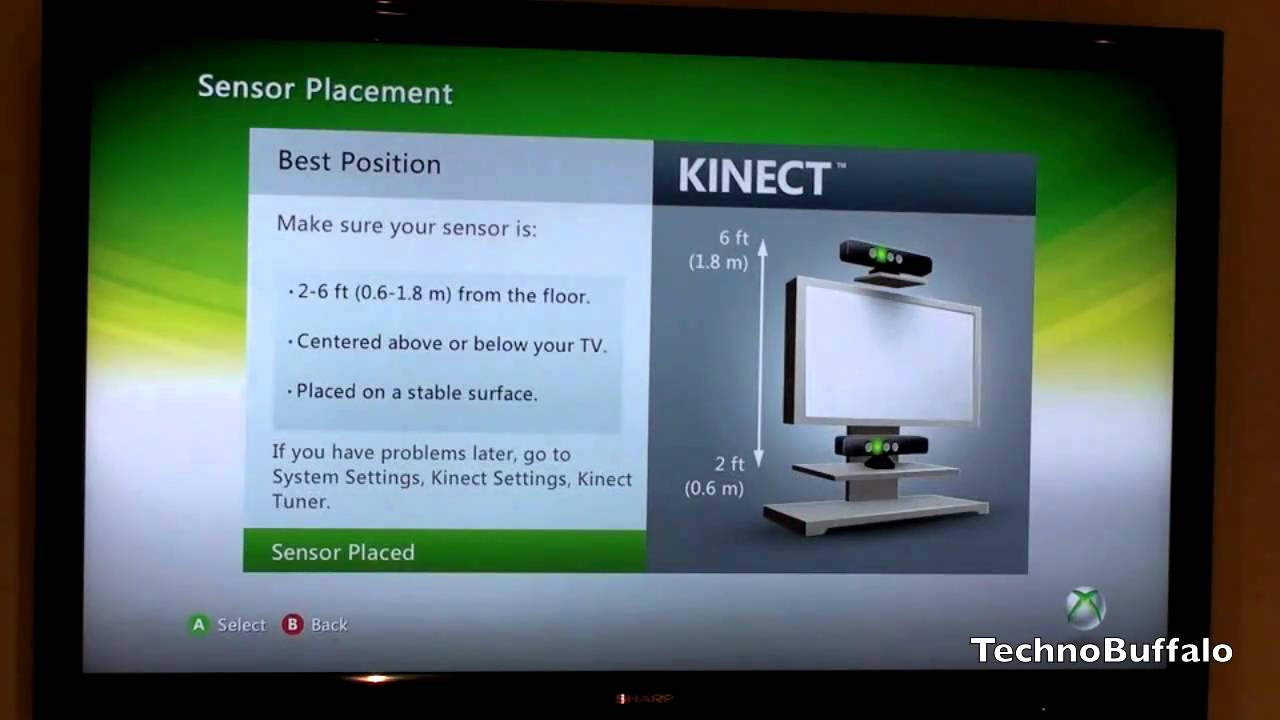 xbox 360 kinect setup youtube rh youtube com Xbox One X Xbox 360 Kinect