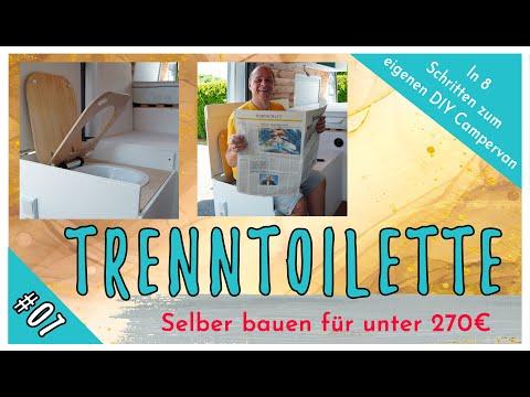 #07 DIY-Trockentrenntoilette für den CAMPER ganz EINFACH selber bauen für unter 270,-€ mit TROBOLO.