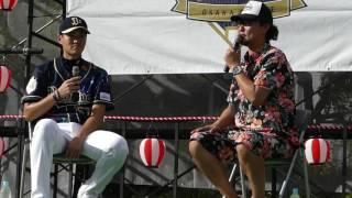 160823 オリックス Bs神戸夏まつり 選手トークショー 山田修義